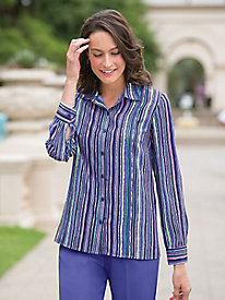 Spectrum Stripe Shirt by Koret