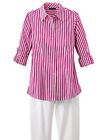 Bright Stripes Shirt by Foxcroft