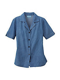 Koret Chambray Camp Shirt
