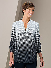 Illusion Dot Blouse