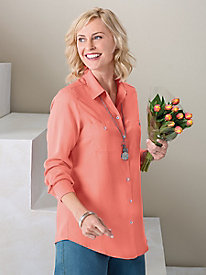 Tencel® Shirt by Foxcroft®