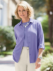 Siesta Key Soft Crinkle Relaxed Shirt