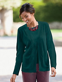 Spindrift? Open Drape Cardigan