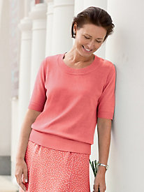 Ottoman-Trim Sweater