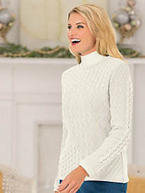 Mixed-Stitch Pullover
