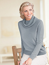 Spindrift Cowl Neck Sweater