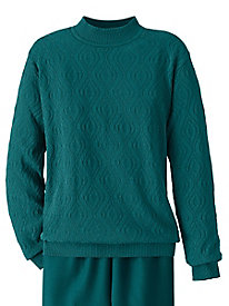 Textured Sweater by Alfred Dunner