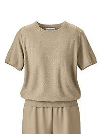 Chevron Texture Sweater