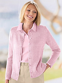 Classic Boucle Cardigan by Haymaker