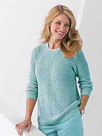 Stitch-Mix Shaker Sweater