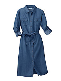 Koret Chambray Shirt-Dress