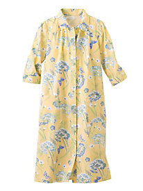 Queen Anne's Lace Print Duster