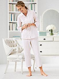 Plaid Seersucker Pajama