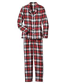 Plaid Flannel PJ Set