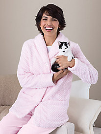 Cozy Fleece Bed Jacket