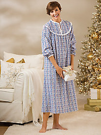 Flannel Nightgown by Lanz of Salzburg