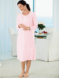 Pointelle Cozy Knit Gown