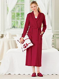 Soft Knit Wrap Robe