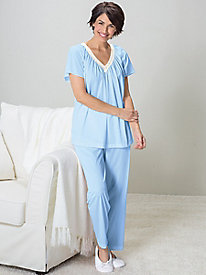 Tricot Pajama Set by Koret®