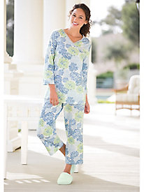 Heavenly Soft Asian-Floral PJs