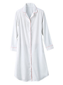 Cotton Broadcloth Nightshirt