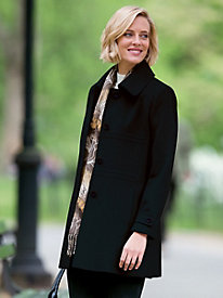 Seam-Detailed Wool Coat by Forecaster�