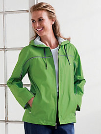 Contrast Piping Windbreaker by Fleet Street�> <meta name=