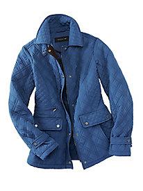 Jones New York Quilted Jacket