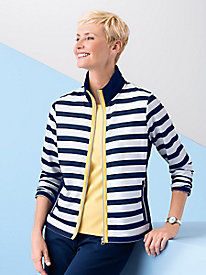 Stripe Active Jacket by Onque