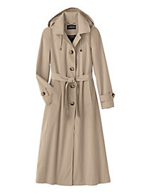 Faux Silk Trench By London Fog&#174