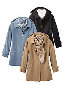 Hooded Wool Coat by Jones...