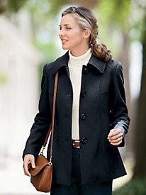Seamed Short Coat