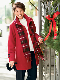 Wool Scarf Coat by Mackintosh?