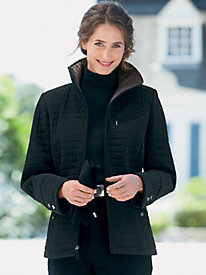 Town-and-Country Quilted Coat