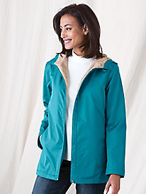 Plush Fleece-Lined Jacket by Koret�