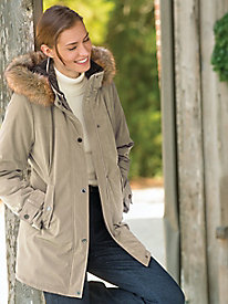 Fleece-Lined Parka