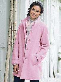 Light & Lofty Plush Coat