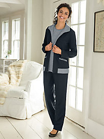 Dot Knit 3-Piece Active Set
