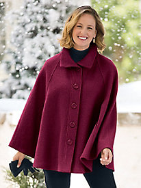 Boiled-Wool Cape 9113466