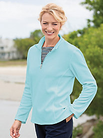 Quarter-Zip Fleece Top 9139989