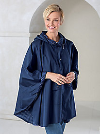 Rain Poncho with Storage Pouch