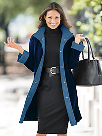 Three-Quarter 3-Season Raincoat