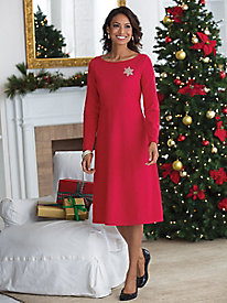 Heavenly Soft Fleece Dress