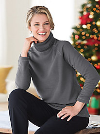 Heavenly Soft Fleece Turtleneck