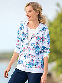 Swirling Flowers Sweatshirt