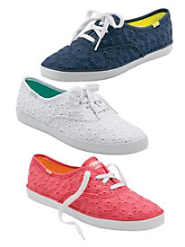 Eyelet Sneaker by Keds�
