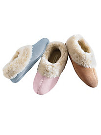 Sueded Slippers