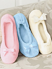 Terry Ballerina Slipper