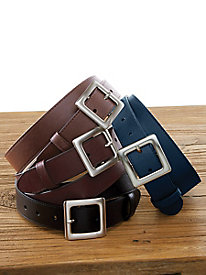 Leather Jean Belt by Appleseed's