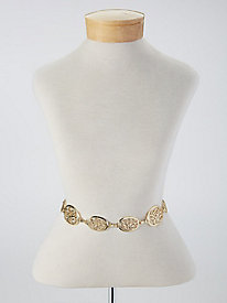 Filigree Chain Belt